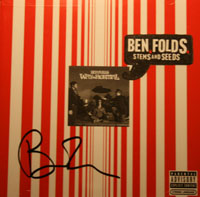 A signed copy of Stems and Seeds