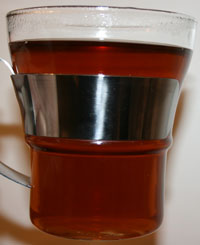 The dark tea itself