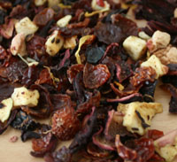 Looks like Pot Pourri - smells and tastes much nicer